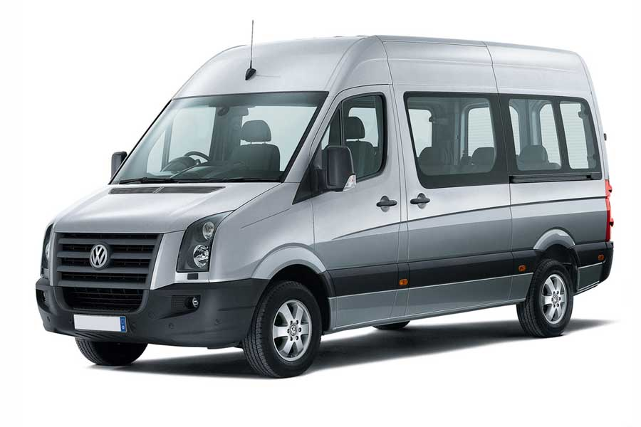 Volkswagen Crafter rental service for India Tours