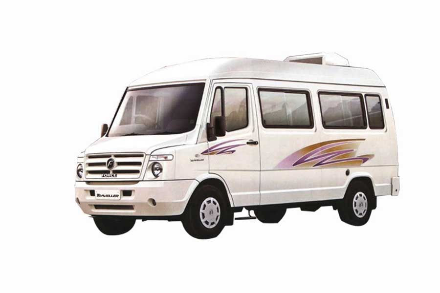 Tempo Traveller on rent for group Tours